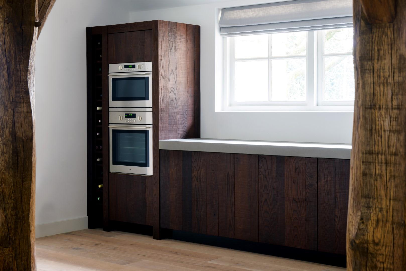 Moderne Keukens Inbouwapparatuur : Moderne houten keukens van JP ...