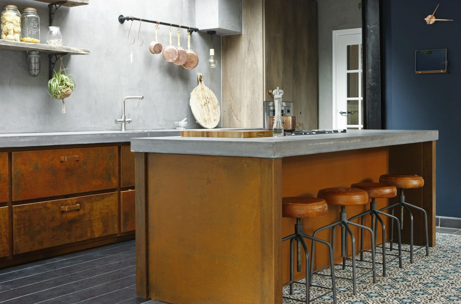 Stoere Keuken Grey : Keukeninspiratie keukens van staal hout beton nieuws