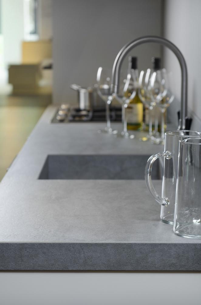 Wasbak Keuken Installeren : Keuken Betonlook : Werkbladen met betonlook voor de keuken Wonen