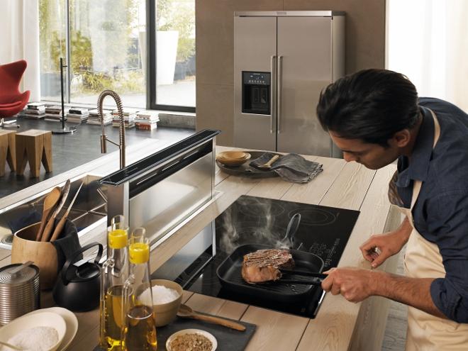 Nederland stapt over op elektrisch koken. Inductie koken. Inductie kookplaat KitchenAid