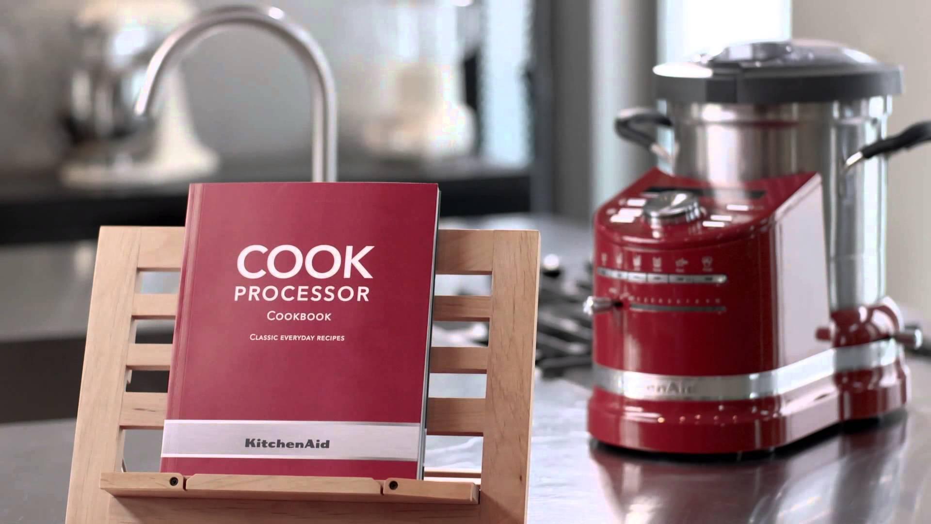 KitchenAid Cook Processor met zes verschillende functies. Een alles-in-een kunner en een eyecatcher in de keuken!