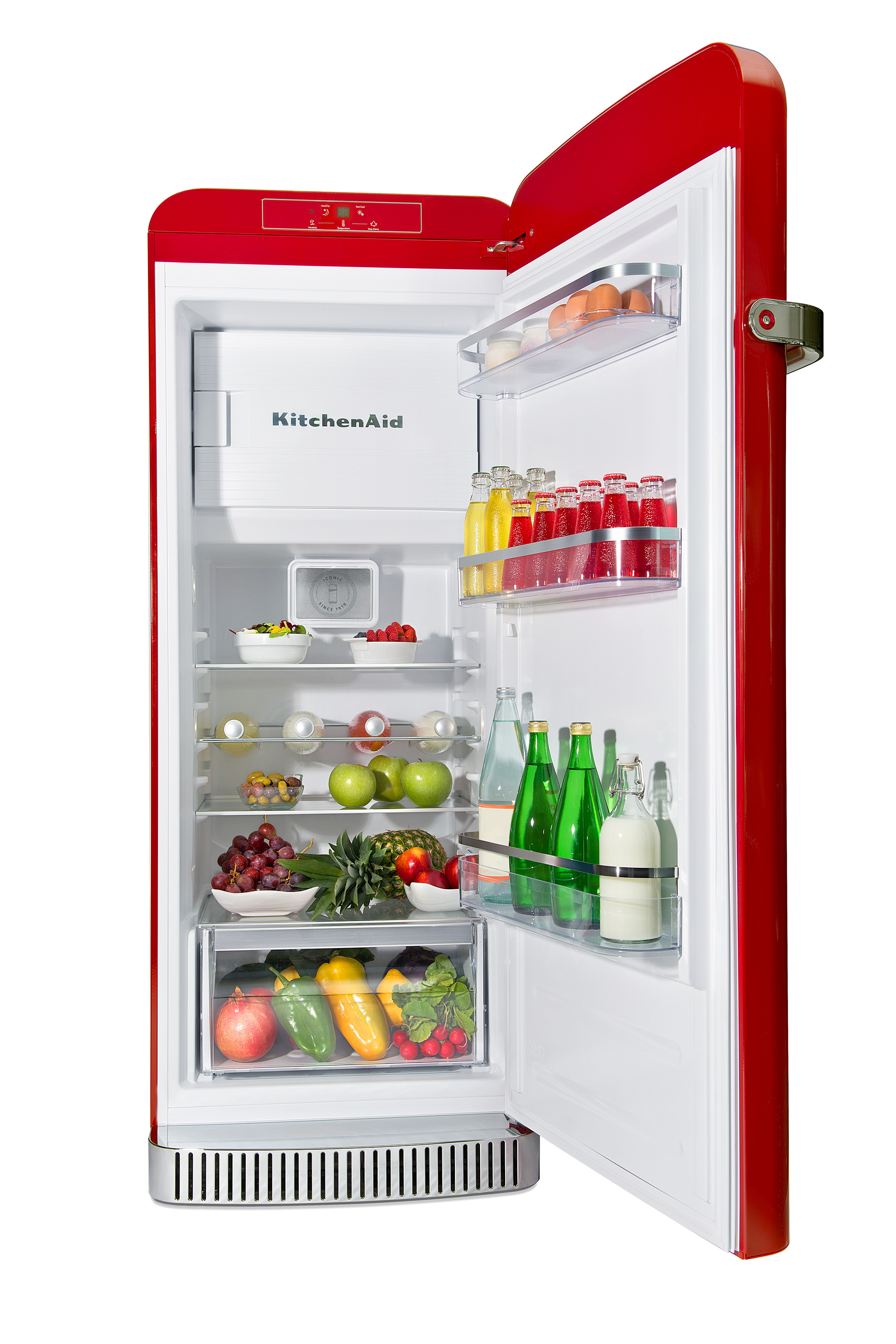 De nieuwste koelkast van KitchenAid - de Iconic Fridge #koelkast #keuken