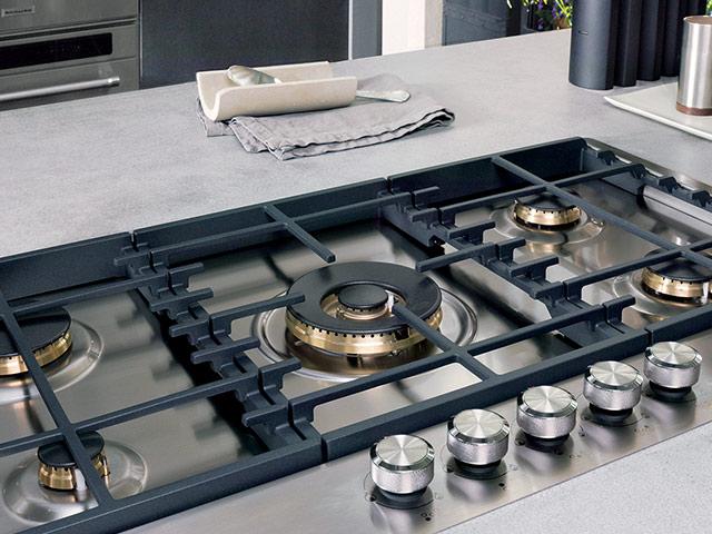 Moderne gas kookplaten #kitchenaid #kookplaat #keuken #keukeninspiratie