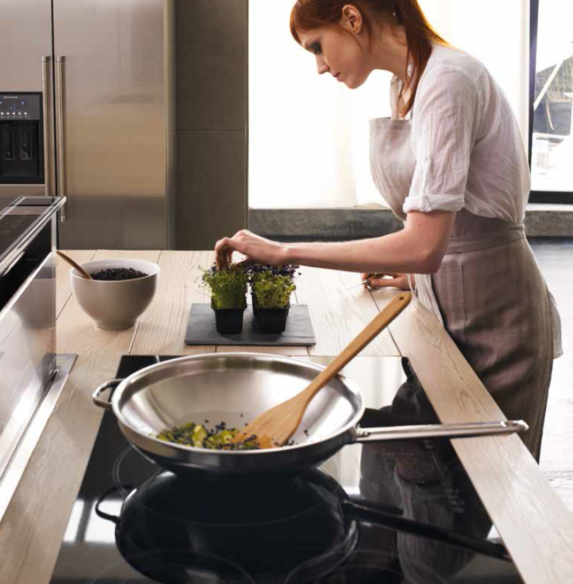 Koken op inductie: veilig en duurzaam. KitchenAid inductiekookplaat #inductie #keuken #kookplaat #kitchenaid
