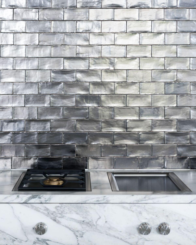 Keuken tegels Piet Boon Tiles & Stones by Douglas & Jones - signature metal glossy