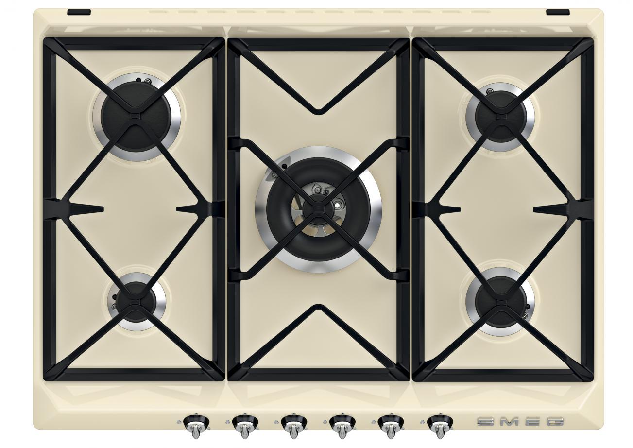 Gaskookplaat in jaren 50 stijl van Smeg