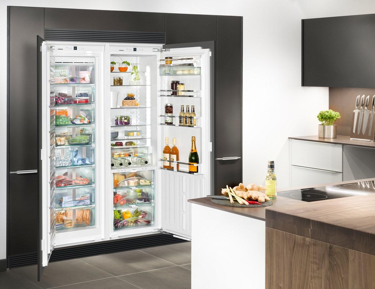Stel zelf je ideale side by side koelkast van Liebherr samen. Liebherr sbsef7014 #liebherr