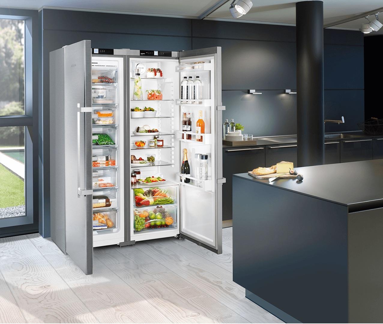 Stel zelf je ideale side by side koelkast van Liebherr samen. Liebherr sbsef7242 #liebherr