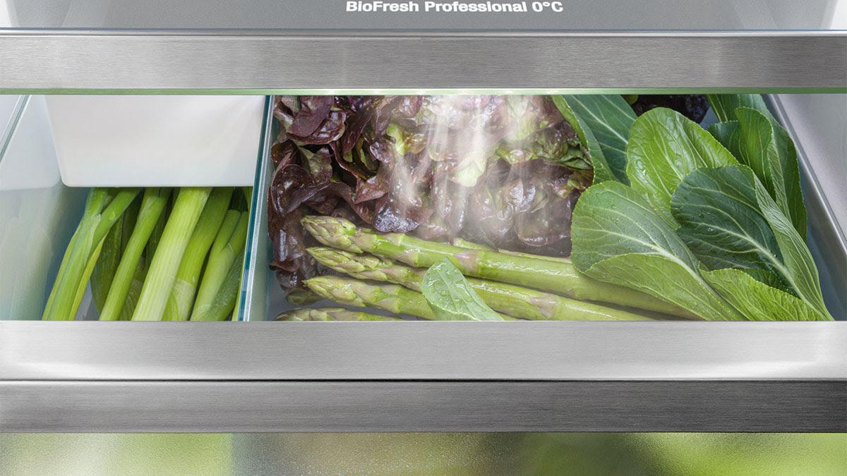 Liebherr koelkast met biofresh groentelade #keuken #koelkast #groentenlade #liebherr