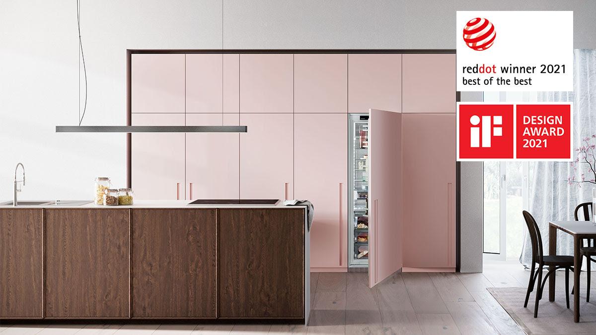 Liebherr inbouwkoelkasten design awards #keuken #inbouwkoelkast #koelkast #designawards #ifaward #reddotaward