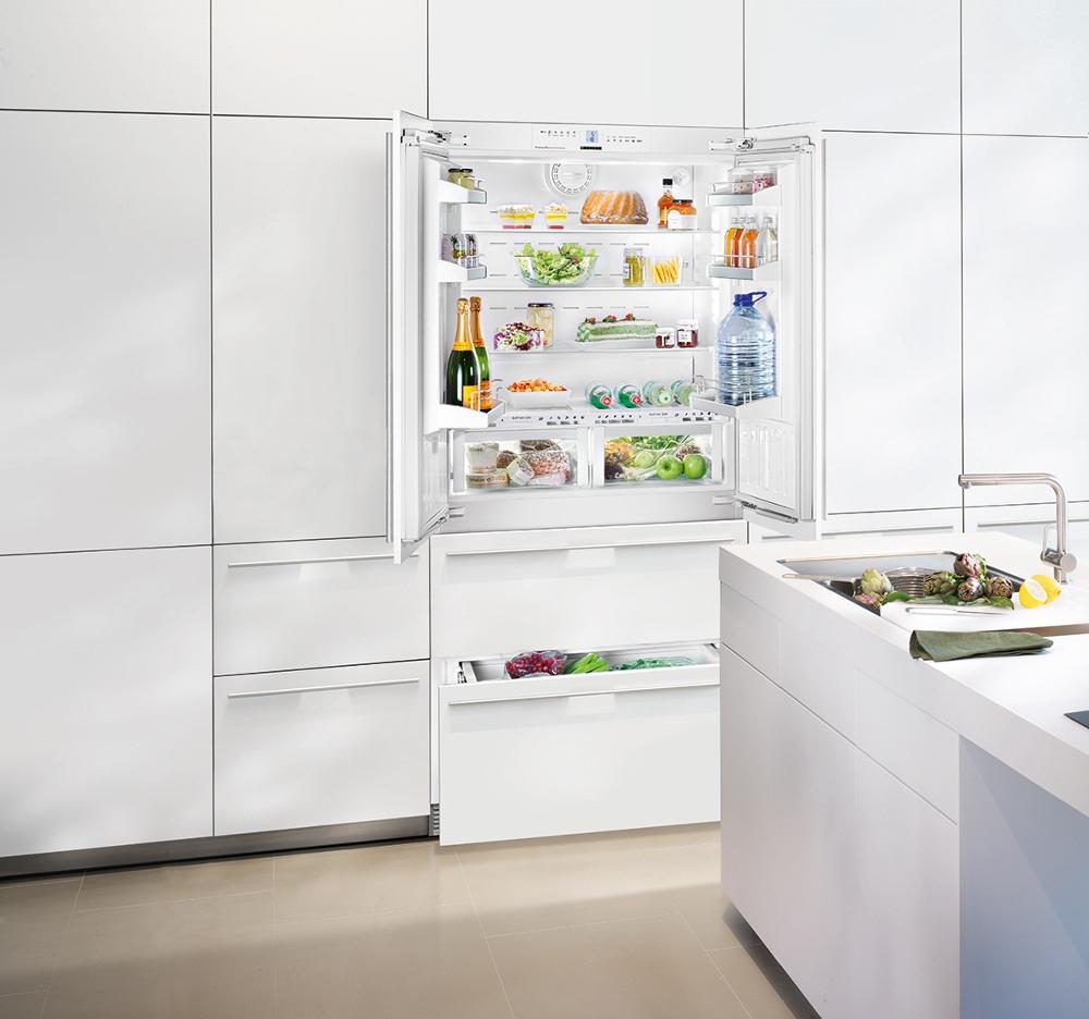Liebherr zuinige en milieuvriendelijke koelkast ECBN frenchdoor