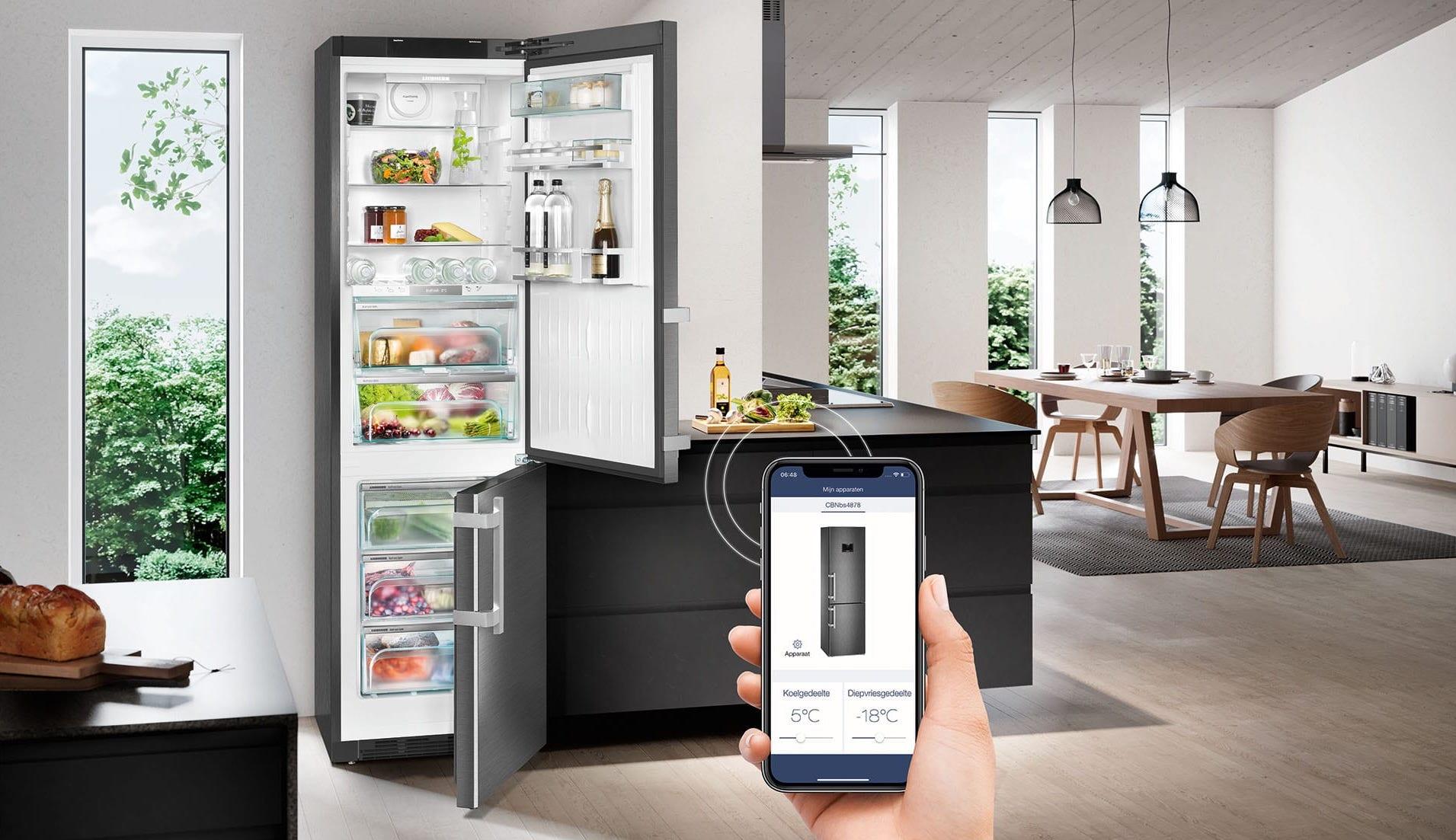 Alles over koelen. Koelkasten en vriezers en hun energielabels. Smart koelkasten en nofrost. #koelkast #koelen #vriezers #liebherr