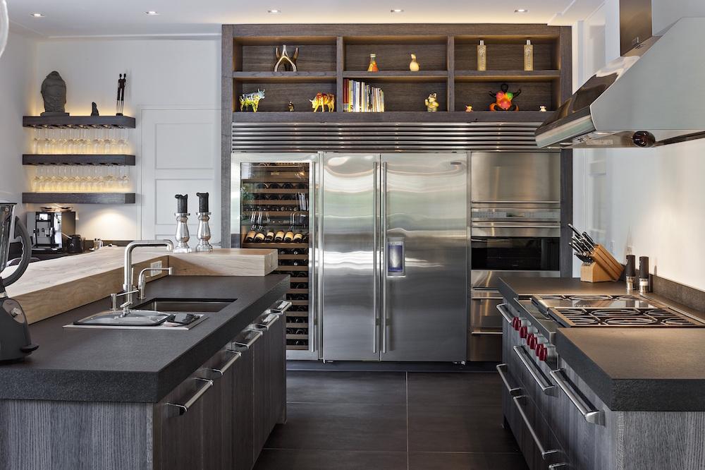 OP maat gemaakte luxe keuken van The Living Kitchen by Paul van de Kooi #keuken #houtenkeuken #paulvandekooi