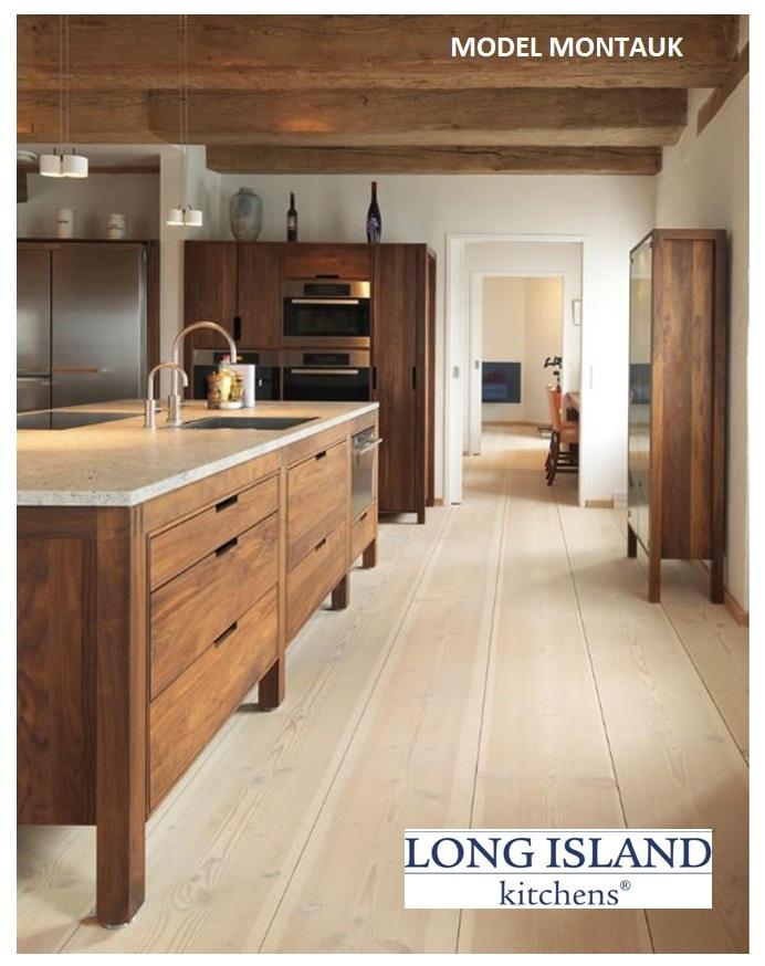 Houten keuken Montauk - Long Island Kitchens