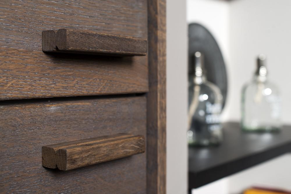 Long island kitchens houten keuken donkergrijs product in beeld startpagina voor keuken - Eigentijdse houten keuken ...