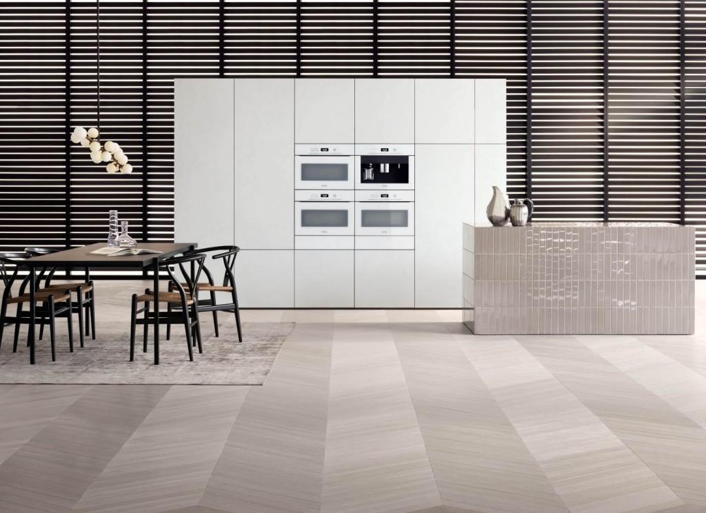 Inbouwapparatuur Miele Artline - greeploze keukenapparatuur: ovens, stoomovens, koffieautomaat #ovens
