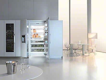 Miele MasterCool koel-/vriescombinatie met wijnklimaatkast