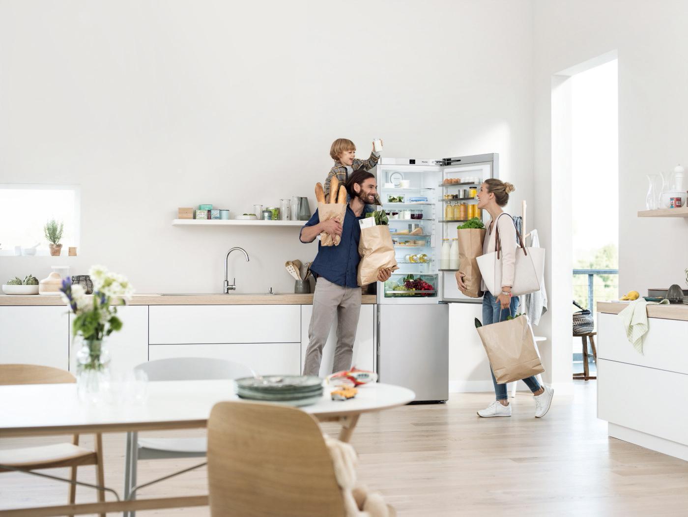De nieuwe Miele koel- diepvrieskasten Met PerfectFresh