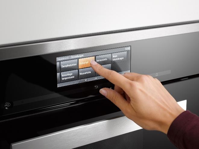 M-touch Miele 6000 serie inbouwapparatuur