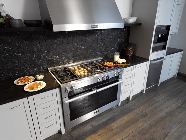 De amerikaanse range cooker van miele wonen - Model amerikaanse keuken ...