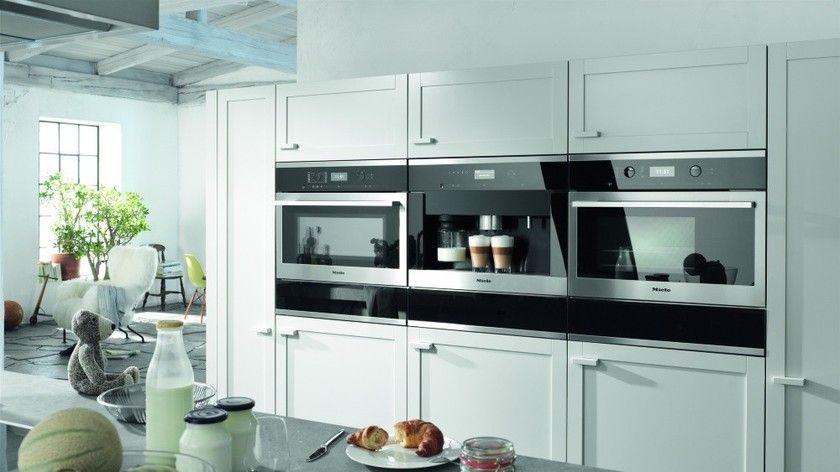 Miele inbouwapparatuur ovens en koffievolautomaat ContourLine 6000 serie