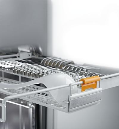 Miele afwasautomaat 3D besteklade ook voor groot bestek als soeplepels en gardes