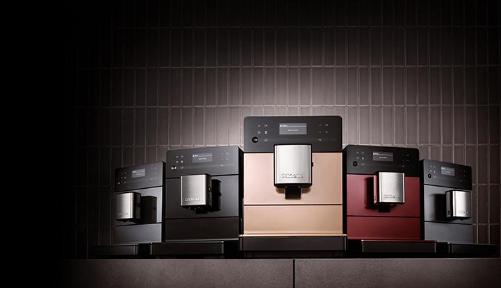 De nieuwe vrijstaande koffieautomaat van Miele in verschillende kleuren #koffieautomaat #koffie #espresso #cappuccino #miele #keuken