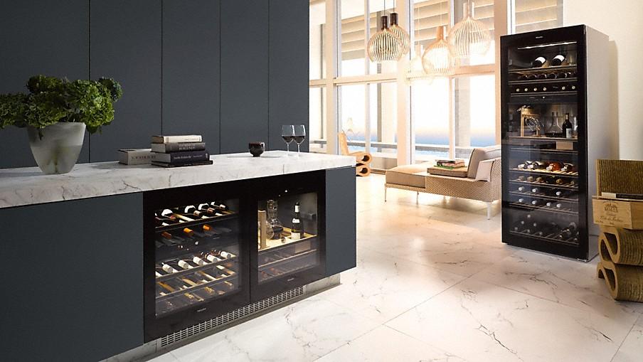 vier de feestdagen met de nieuwe miele wijnklimaatkast nieuws startpagina voor keuken idee n. Black Bedroom Furniture Sets. Home Design Ideas