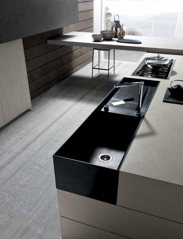 Industrieel chic: de Twenty Cemento keuken van Modulnova - Nieuws ...