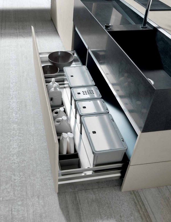Keukenlade van Modulnova Twenty Cemento keuken