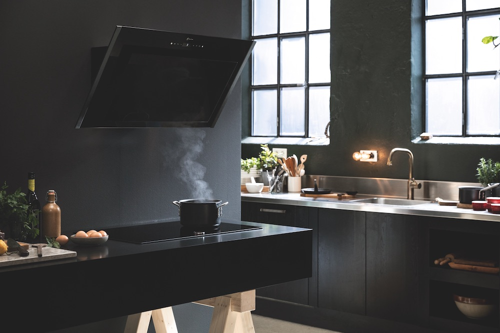 Neff keukenapparaten Graphite Grey #keuken #kookplaat #afzuigkap #neff #inbouwapparaten #keukenapparaten #graphitegrey #inbouwapparatuur