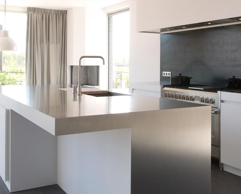 Werkblad Keuken Betonlook : werkbladen – Nieuws Startpagina voor keuken idee?n UW-keuken.nl