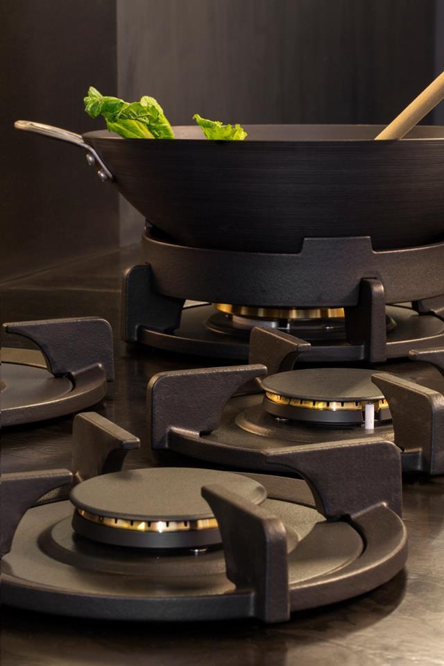 Piit Professional messing branders en wokbrander met wokring