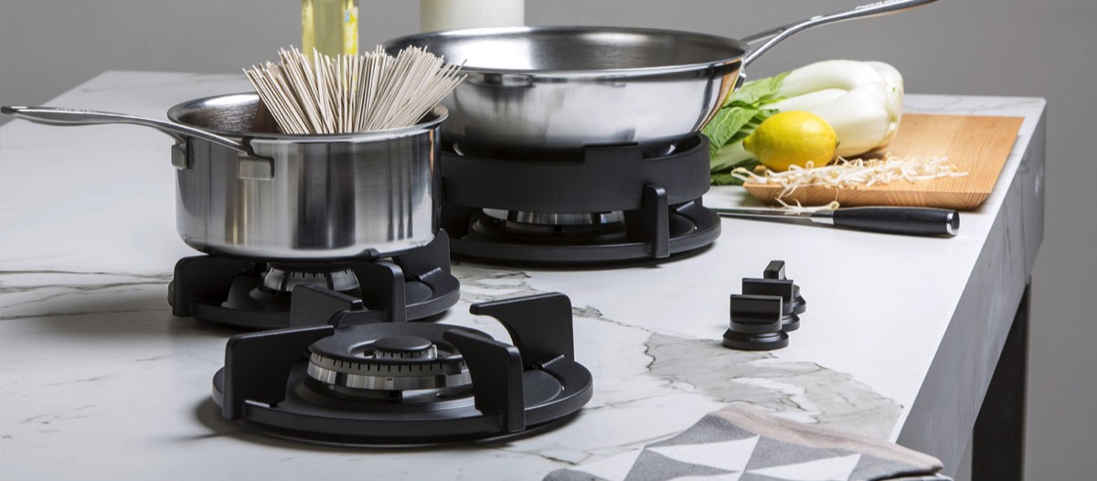 Speciaal voor de echte wokliefhebber heeft PITT Cooking de 3-PITTS Colo ontwikkeld