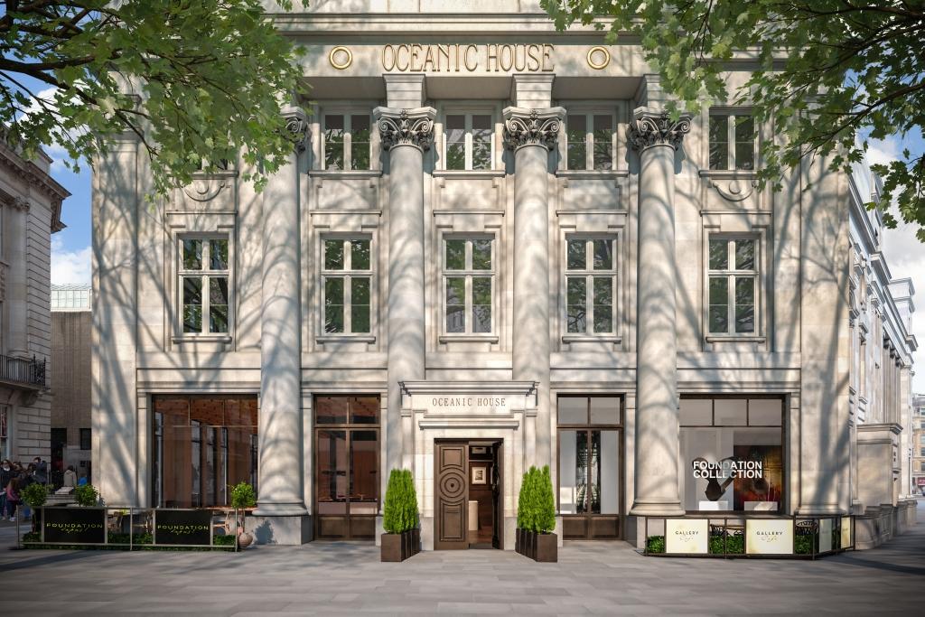 Oceanic House in Londen met in de luxe appartementen exclusieve Poggenpohl designkeukens. Foto CityAM