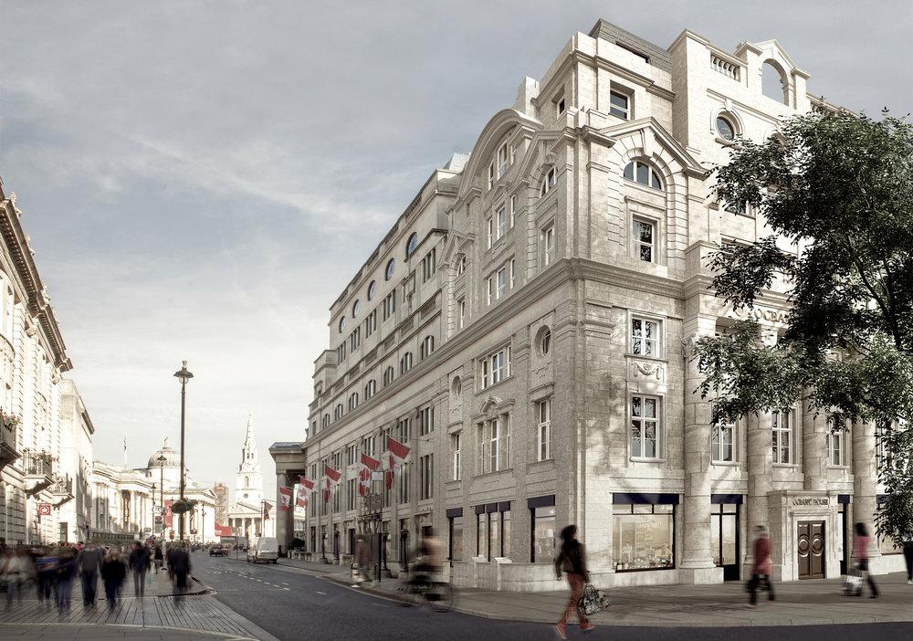 Oceanic House luxe appartementen Londen - Foto woolfinterior.com