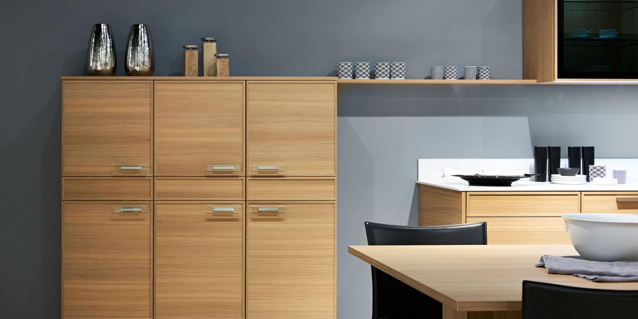 Poggenpohl designkeuken met houten fronten - nieuw in 2017
