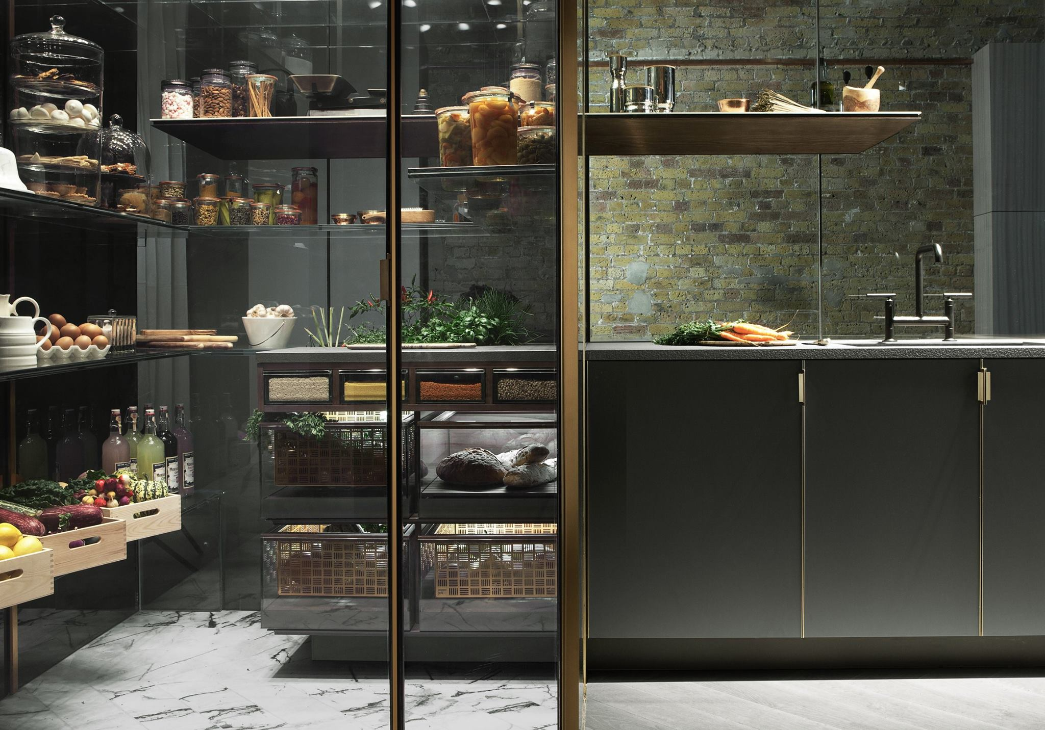 Poggenpohl design keuken Fourth Wall Concept