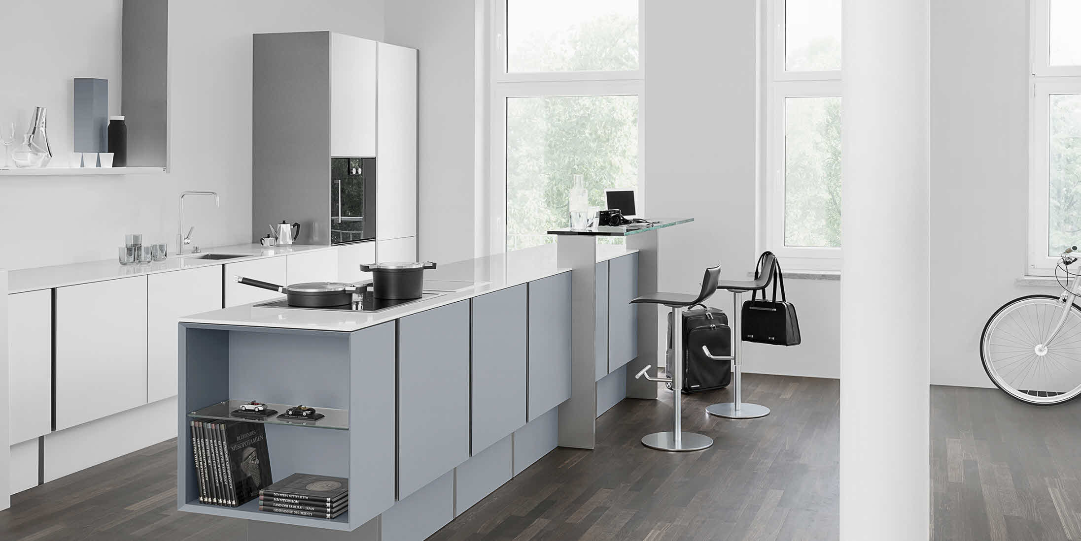 Moderne design keuken P7350 by Porsche Design Studio