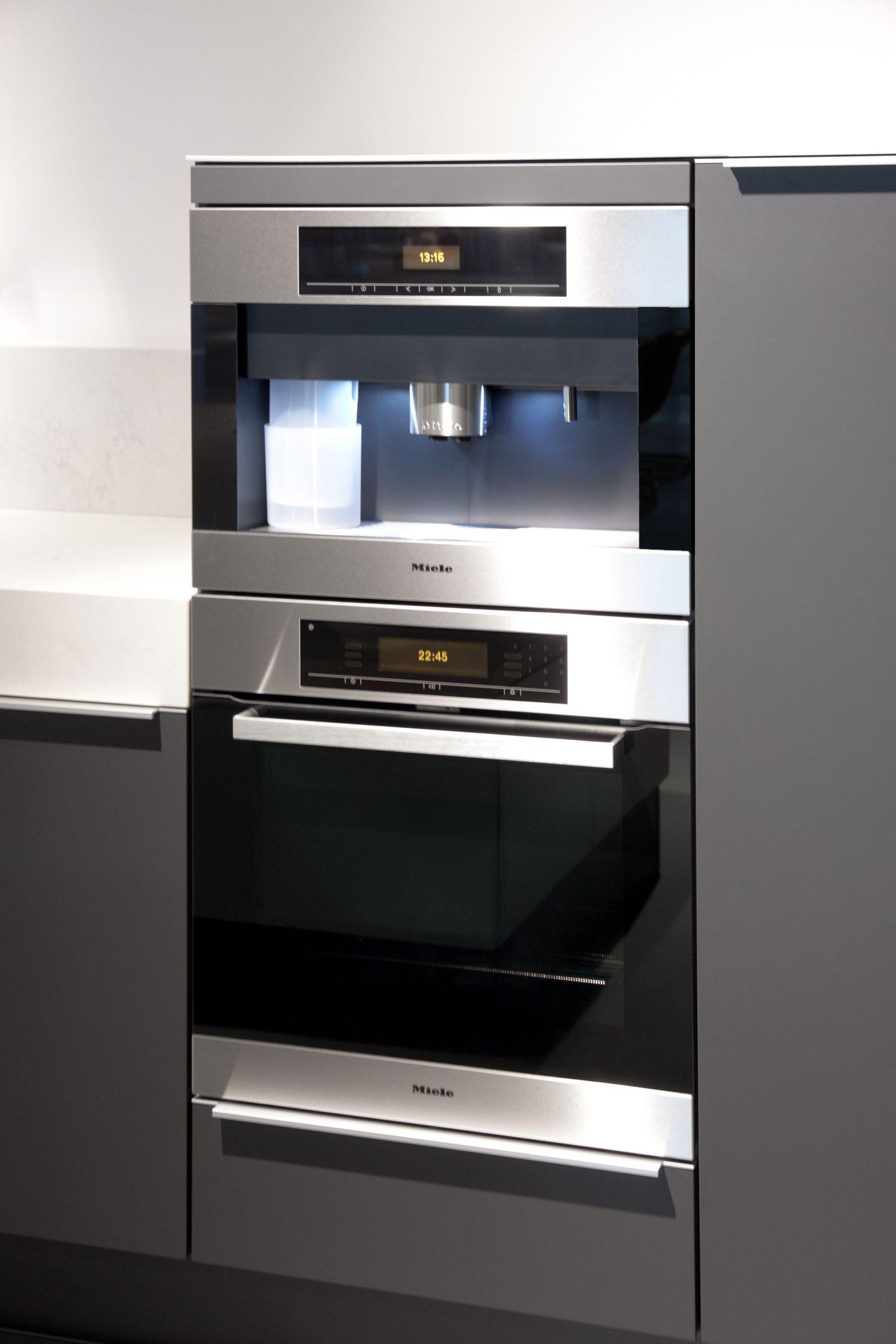 Inbouwapparatuur Miele Poggenpohl keuken plusmodo