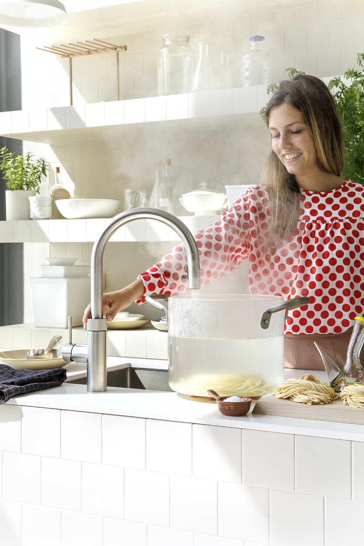 Quooker Cube kokendwaterkraan en bruisend fris water #quooker #cube #kokendwaterkraan