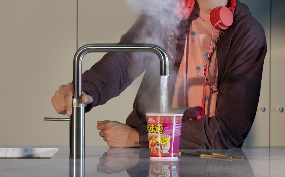 Quooker Fusion kokend water kraan met waterzuivering