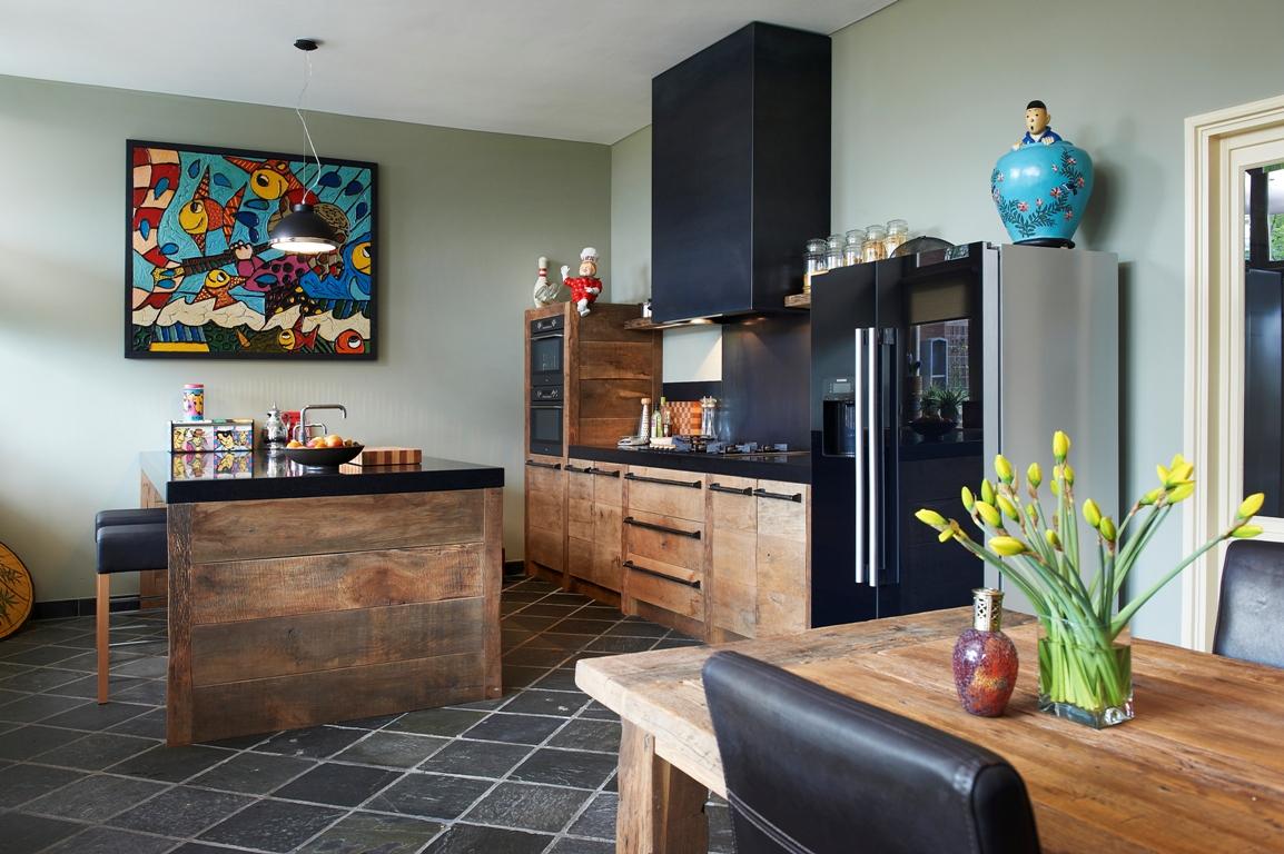 Robuuste Witte Keuken : Landelijke keukens Startpagina voor keuken idee?n UW-keuken.nl