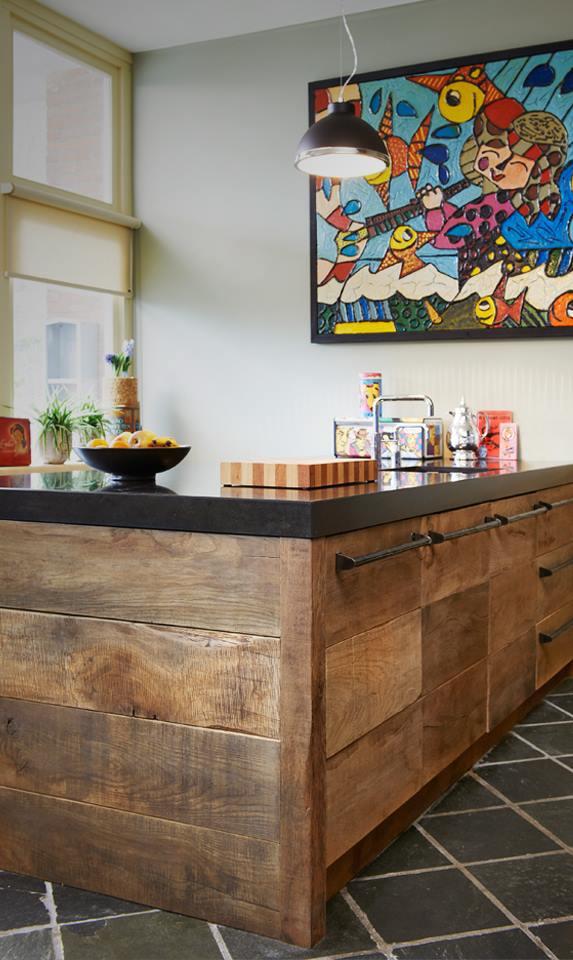 Sloophouten keuken oud eiken Restyle XL