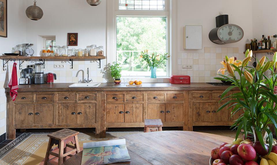 Keukens van steigerhout nieuws startpagina voor keuken idee n uw - Vintage keukens ...