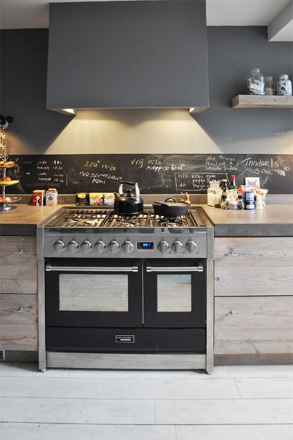 Keuken Achterwand Ideeen : Modern Rustic Kitchen
