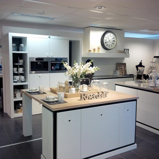 Riverdale keuken met eiland
