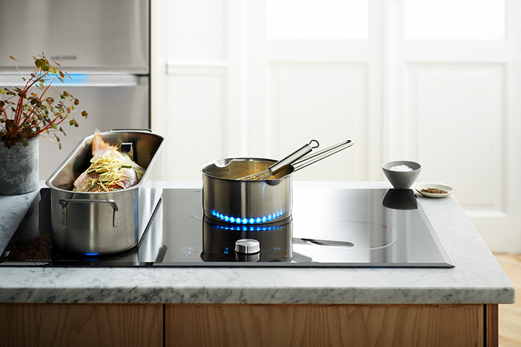Samsung inductie kookplaat met Virtual Flame - Samsung Chef collection