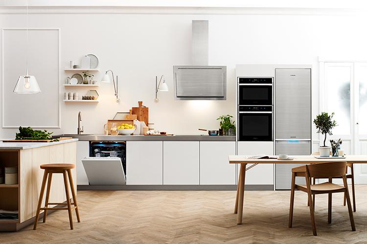 Keuken met de nieuwste inbouwapparatuur van Samsung - Chef Collection