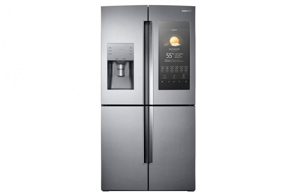 De slimme koelkast met camera 39 s samsung family hub nieuws startpagina voor keuken idee n uw - Geldt desing ...